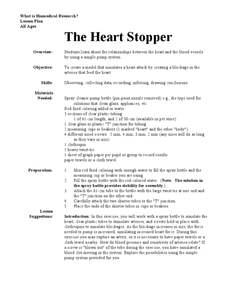 The Heart Stopper Lesson Plan