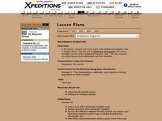 Wildebeest Migration Lesson Plan