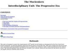 The Muckrakers Interdisciplinary Unit Lesson Plan