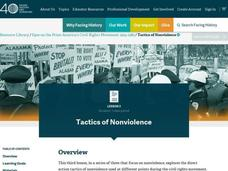 Tactics of Nonviolence Lesson Plan