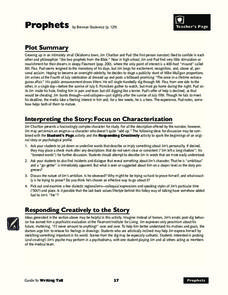 Interpreting the Story: Focus on Characterization Unit