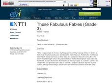 Those Fabulous Fables Lesson Plan