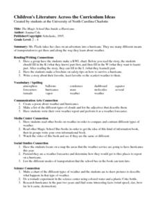 The Magic School bus Inside A Hurricane Lesson Plan