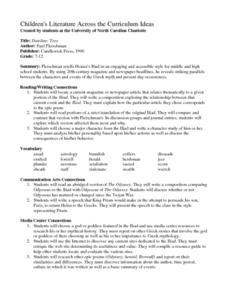 Troy Lesson Plans & Worksheets Reviewed by Teachers