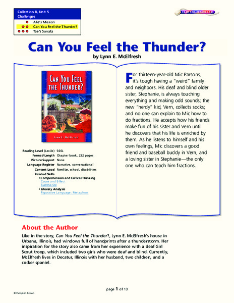 Sound of thunder literary analysis for Farcical meaning in english