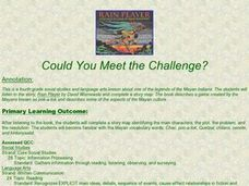 Could You Meet the Challenge? Lesson Plan