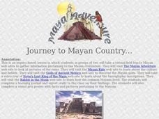 Journey to Mayan Country Lesson Plan