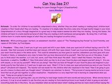 Can You See It? Lesson Plan