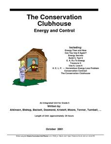 The Conservation Clubhouse Lesson Plan
