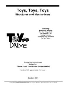 Toys, Toys, Toys: Structures and Mechanisms Lesson Plan