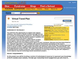 Virtual Travel Plan Lesson Plan