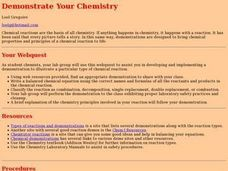 Demonstrate Your Chemistry Lesson Plan