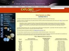 Science: Planet Sizes Lesson Plan