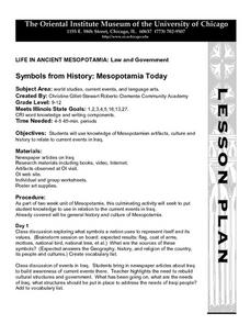 Symbols from History: Mesopotamia Today Lesson Plan