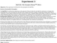 Half-Life: The Energizer Bunny reg. Effect Lesson Plan