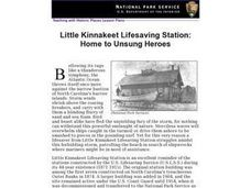 Little Kinnakeet Lifesaving Station: Home to Unsung Heroes Lesson Plan