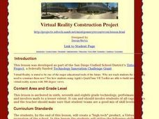 Virtual Reality Construction Project Lesson Plan