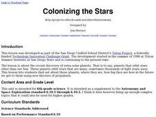 Colonizing the Stars Lesson Plan