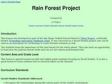 Rain Forest Project Lesson Plan