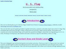U. S. Flag Lesson Plan
