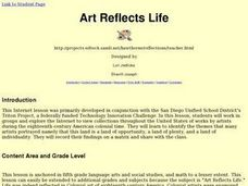 Art Reflects Life Lesson Plan