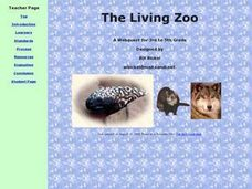 The Living Zoo Lesson Plan