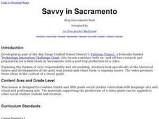Savvy in Sacramento Lesson Plan