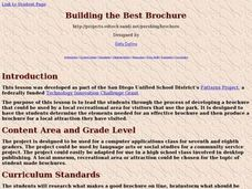 Building the Best Brochure Lesson Plan