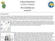 The Coahuiltecans Lesson Plan