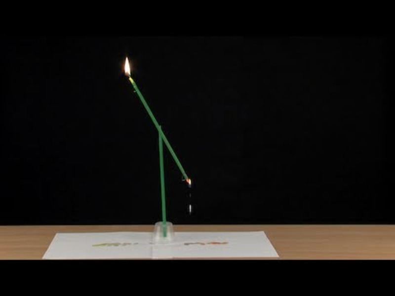 Candle Seesaw Video