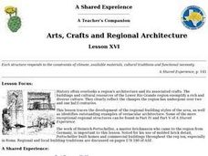 Arts, Crafts and Regional Architecture Lesson Plan