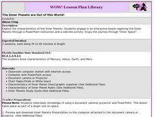 The Inner Planets are Out of this World! Lesson Plan