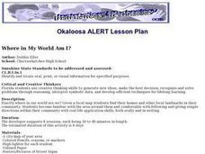 Where in My World Am I? Lesson Plan
