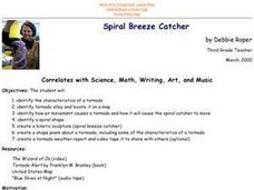 Spiral Breeze Catcher Lesson Plan