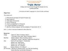Triple Meter Lesson Plan