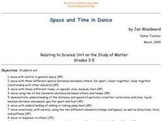 Space and Time in Dance Lesson Plan