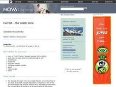 Everest The Death Zone Lesson Plan