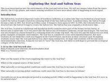 Exploring the Aral and Salton Seas Lesson Plan