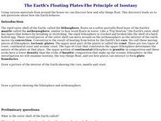 The Earth's Floating Plates-The Principle of Isostasy Lesson Plan