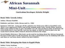 African Savannah Lesson Plan