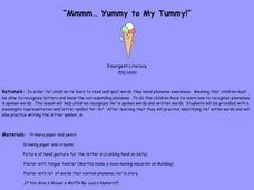 """Mmmm... Yummy to My Tummy!"" Lesson Plan"