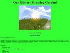 Our Glittery Growing Garden! Lesson Plan