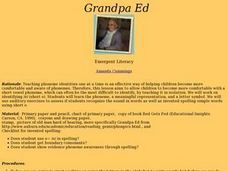 Grandpa Ed Lesson Plan