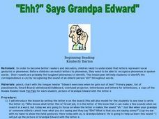 """Ehh?"" Says Grandpa Edward"" Lesson Plan"