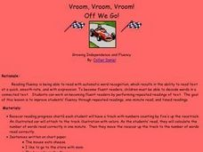 Vroom, Vroom, Vroom! Off We Go! Lesson Plan