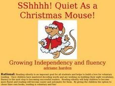 Sshhhh! Quiet As a Christmas Mouse! Lesson Plan