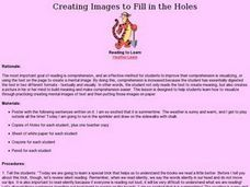 Creating Images to Fill in the Holes Lesson Plan