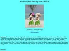 Bouncing and Dancing with B and D Lesson Plan