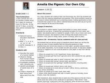 Our Own City Lesson Plan