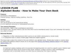 Alphabet Books - How to Make Your Own Book Lesson Plan